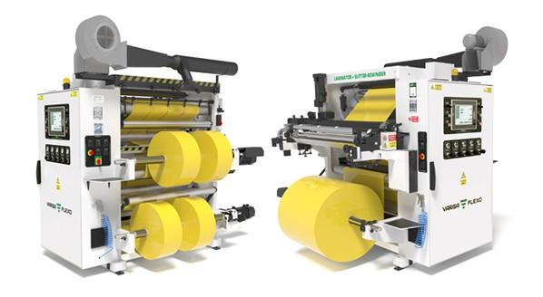 Flexonyomógépek, tekercsvágók, laminálók gyártása   Zwei vollwertige Maschinen zum Preis einer Maschine