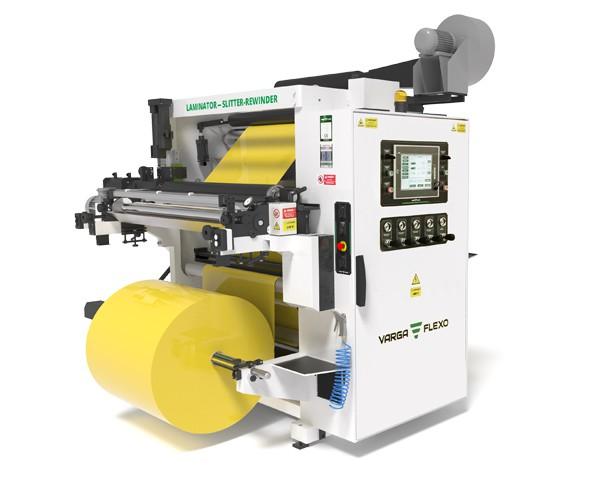 Flexonyomógépek, tekercsvágók, laminálók gyártása   Kaschierprozess