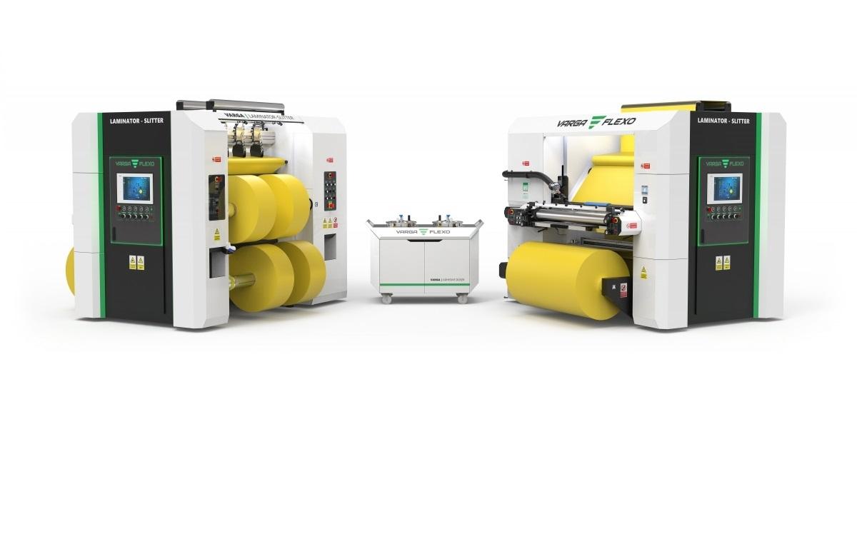 Flexonyomógépek, tekercsvágók, laminálók gyártása | Two machines for one price