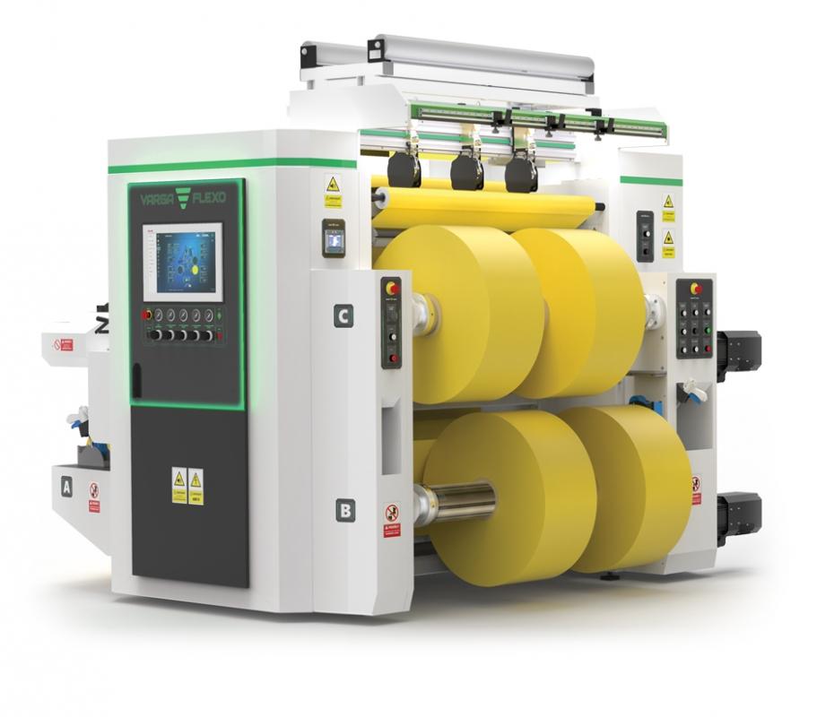 Flexonyomógépek, tekercsvágók, laminálók gyártása   Reel slitting